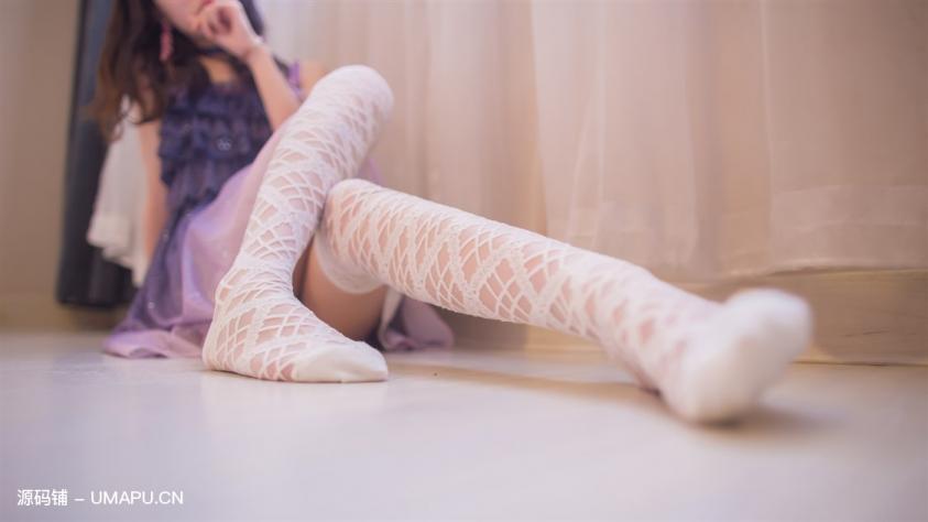 白色网袜你见过么?[60P]