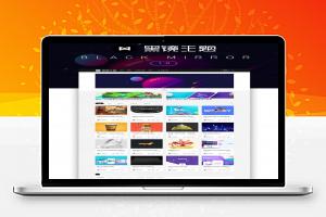 卡片式黑镜2.0主题设计素材教程网站WordPress模板
