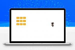 类似网游的控制卡通游戏人物奔跑方向JavaScript代码