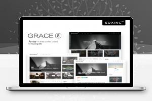 WordPress主题 Grace8.0模块化图文自媒体博客主题