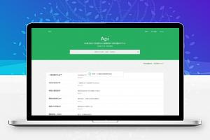 【免费PHP源码】绿色风格大米API全新UI V2.0源码 全网数据API平台